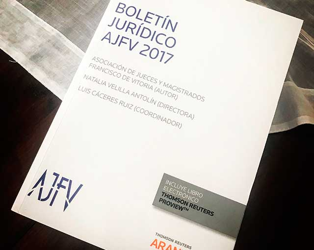 Libro: Boletín Jurídico AJFV 2017